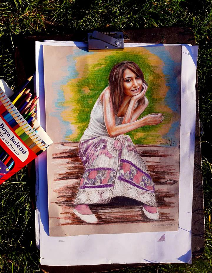 pastel portre karakalem ankara yapan yerler karikatür 3
